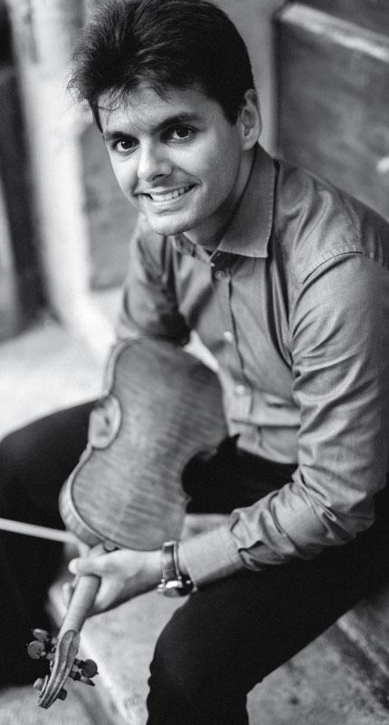 Robert Lakatoš, violina