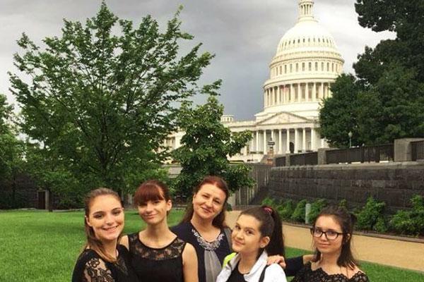 Nastup učenika Škole za muzičke talente iz Ćuprije na proslavi u Vašingtonu